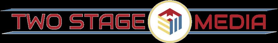 Two Stage Media Retina Logo